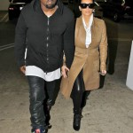 Kim-Kardashian-Kanye-West-Leather-Trenchcoat-Chiropractor-12015-491x722