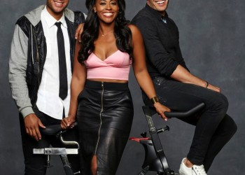 TV STILL -- DO NOT PURGE -- HOLLYWOOD CYCLE -- Season: 1 -- Pictured: (l-r) Aaron Hines, Nichelle Hines, Nick Hounslow -- (Photo by: Mathieu Young/E! Entertainment)