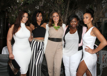 a_Dascha Polanco (Orange is the New Black), singer Cassie Ventura, Maddie Mey, CIROC Exec Erin Harris, and Draya Michelle  (1)