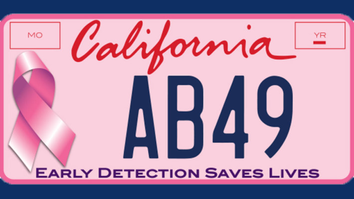 7-2-2013-pink-license-plate-california-breast-cancer