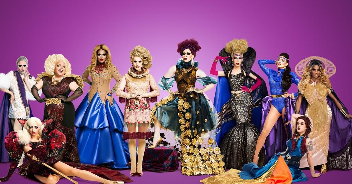 RuPaul's Drag Race All Stars season 2 cast