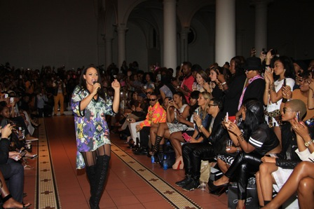 Samantha Black Fashion Show - NYC Fashion Week - September 7, 2013