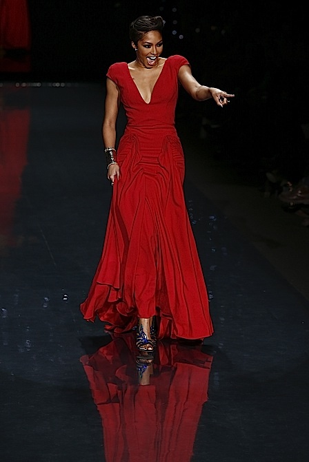 Mercedes-Benz Fashion Week Fall 2014 - Celebrities Go Red For Women The Heart Truth Collection - Runway