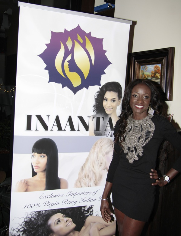 INAANTA Hair International Launch Party hosted by Diva Gals Daily on November 15, 2014 at El Cid, New York City, New York. It is a new high-end Remy Extension line. This party is to get a good look at luxury hair collection.