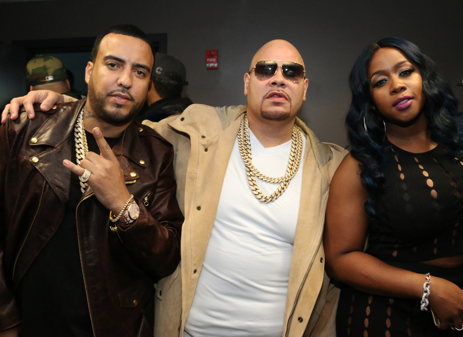french montana fat joe desiigner hanging with nicole ferrell
