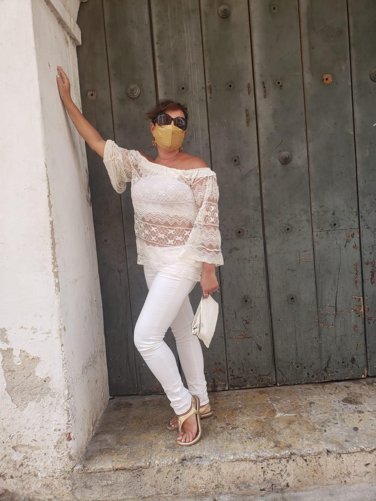 What To Pack For Colombia: Airy White Clothing